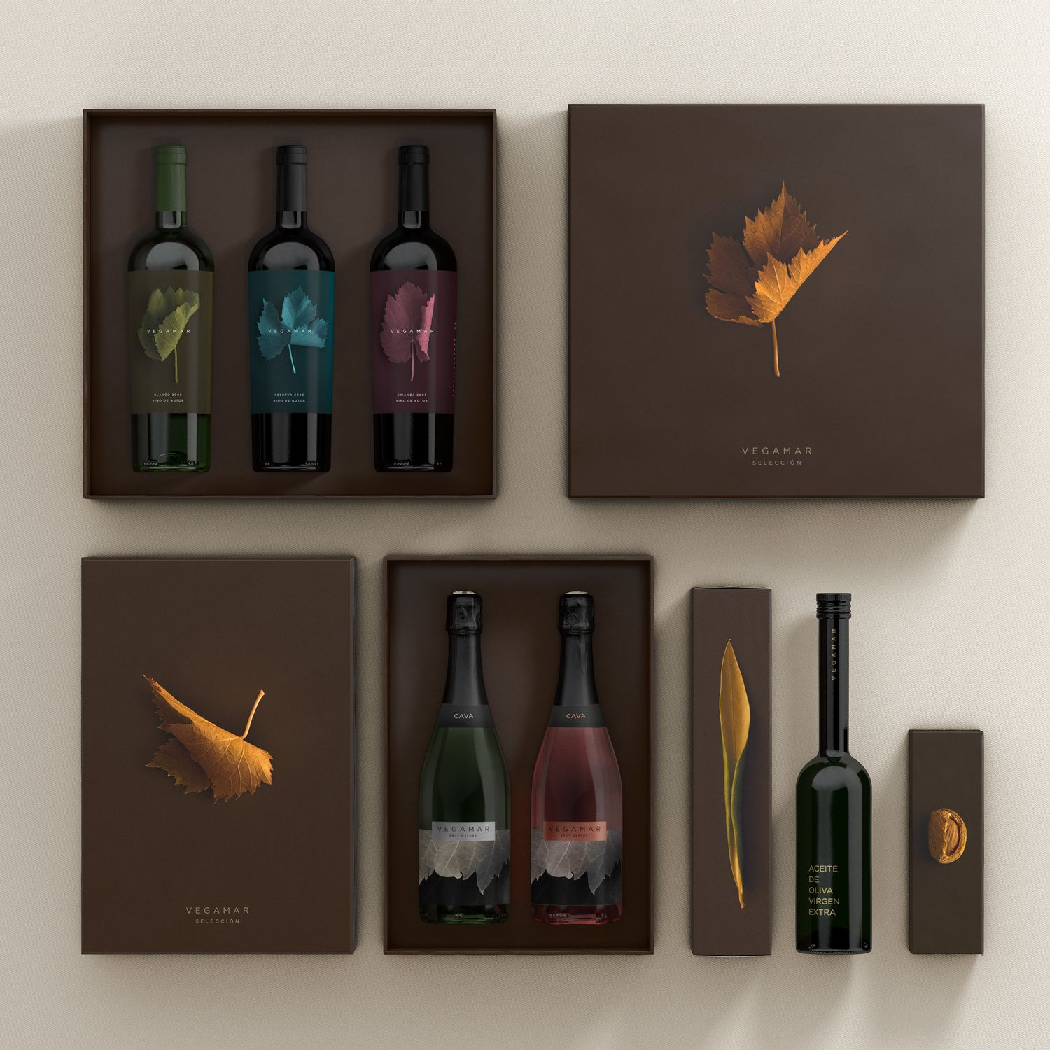 Vegamar Seleccion: Gourmet food & wine — The Dieline