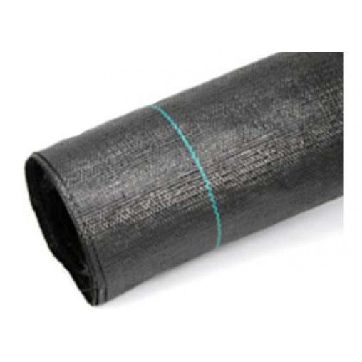 Telo tessuto pacciamatura in rotolo da 100 metri, da 106 gr/mq, per protezione delle colture. In varie altezze.
