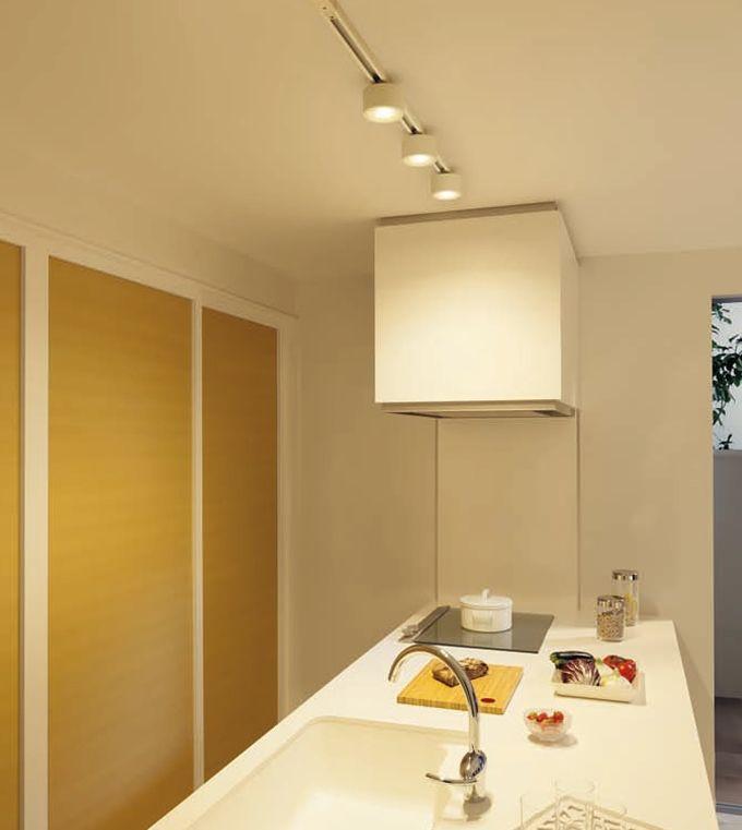 あったらいいな プラグ式小型ledシーリングライト キッチン 実例