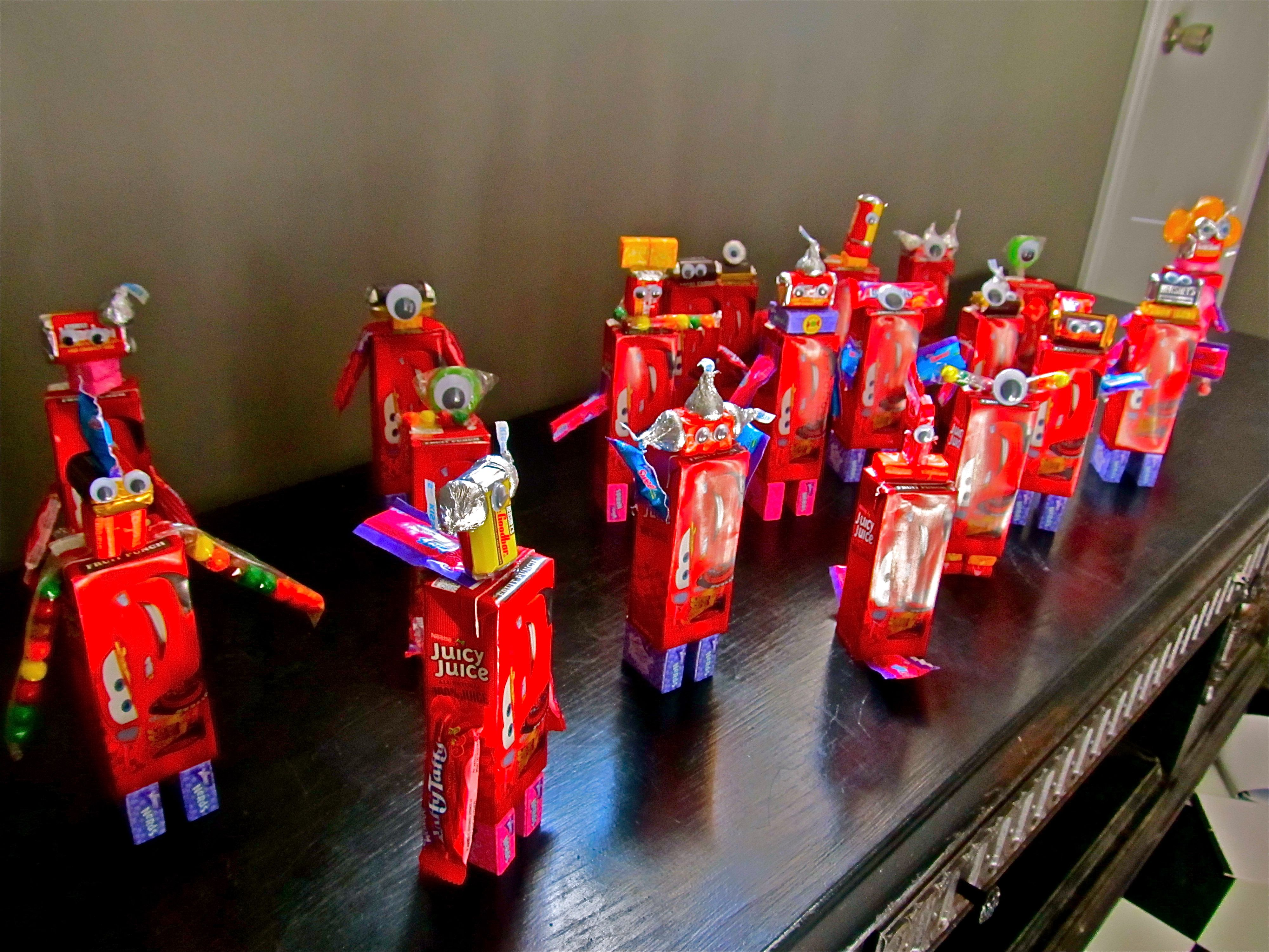 Valentine juice box & candy robots! | for the kid-o's | Pinterest ...