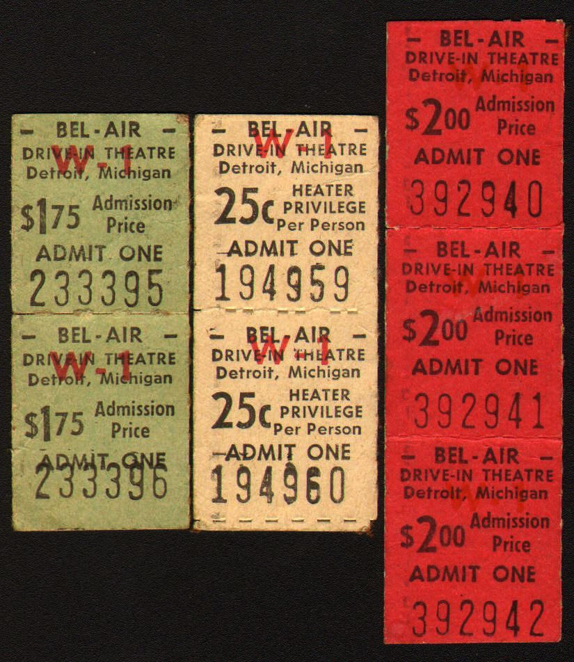 Belair drivein opened on the 25th of august 1950 and