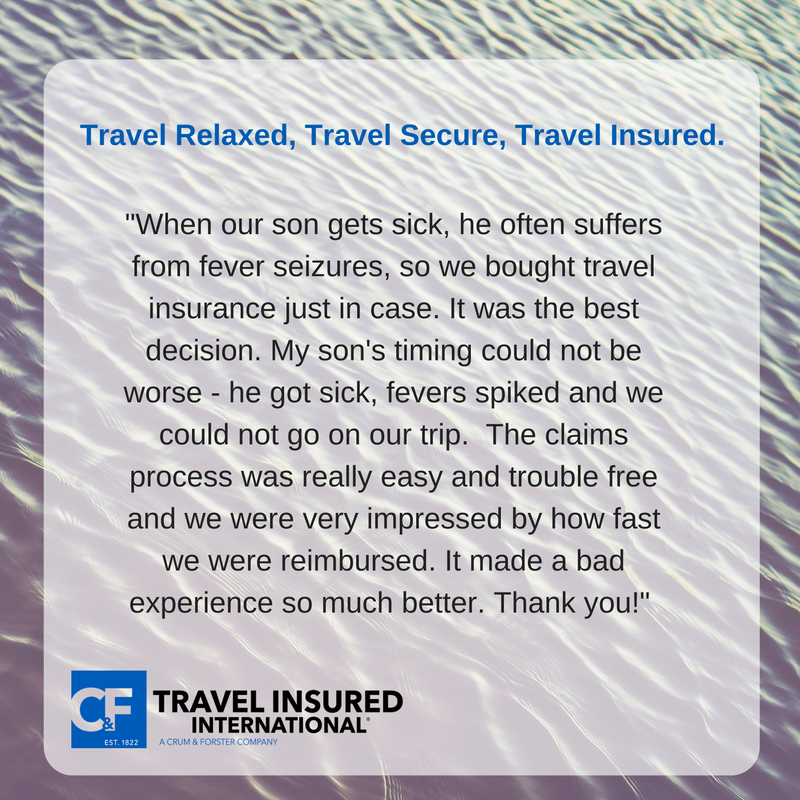 The importance of travel protection... Travel insurance
