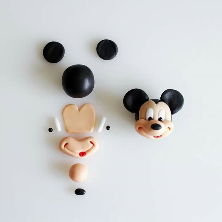 Mike Mouse Face Modelling By Cake Dutchess Fondant