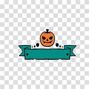 Halloween Euclidean Pumpkin Horror Pumpkin Head Transparent Background Png Clipart Halloween Banner Gold Banner Ribbon Banner
