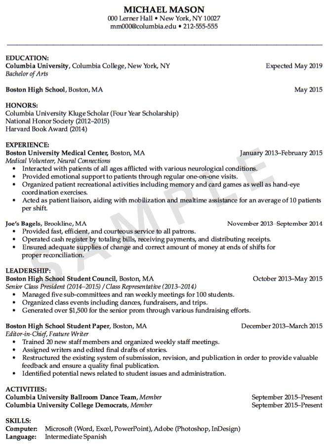 Sample Of Medical Volunteer Resume Examples Resume Cv