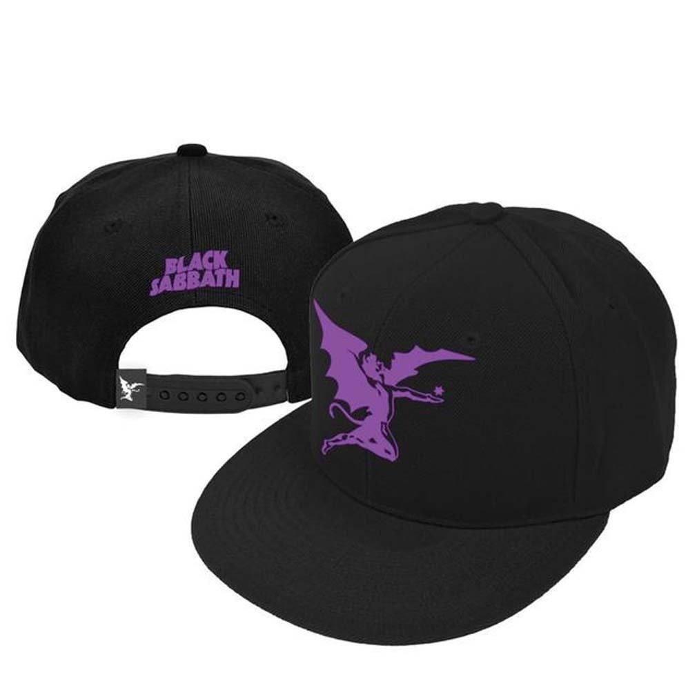 separation shoes 835bf 615f4 Black Sabbath Purple Angel New Era Snap Back Hat