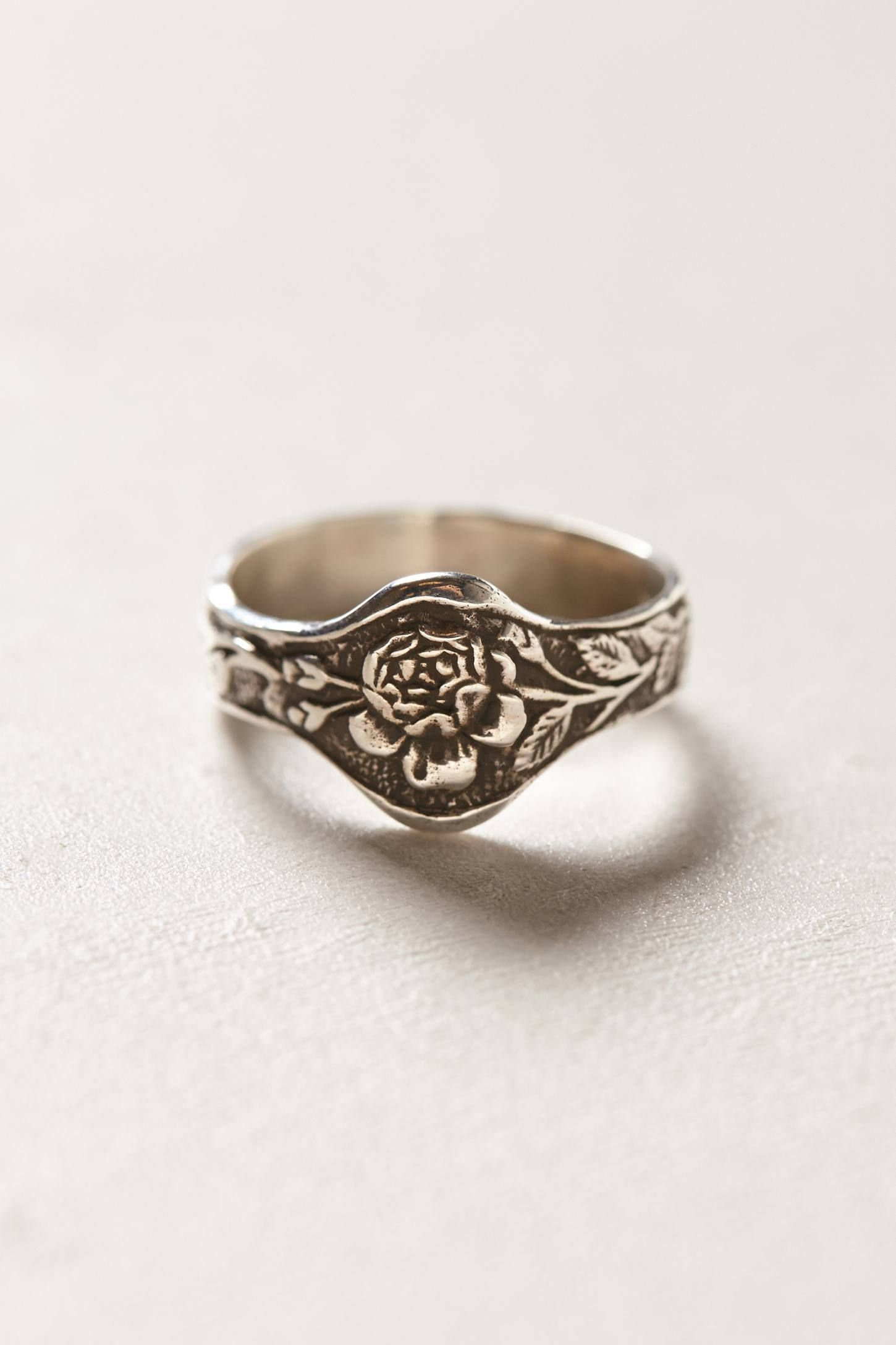 Engraved Rose Ring Jewelry Accessories Jewelry Accessories