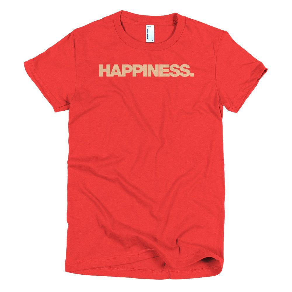 Bevy Happiness - Women's Short Sleeve T-Shirt