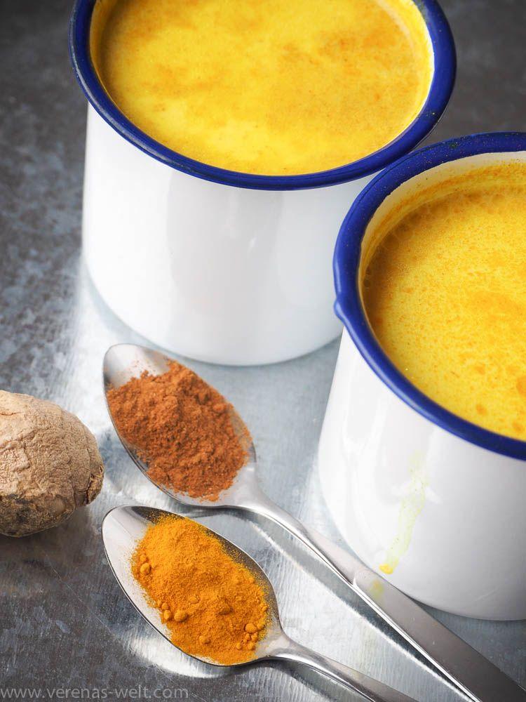 Goldene Milch - Kurkuma Latte | ° Verenas Welt °