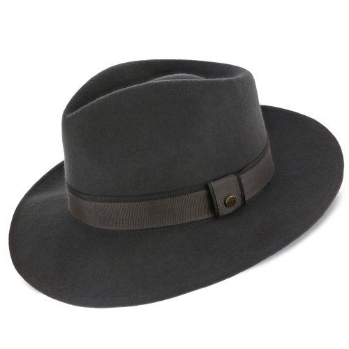 c53e314f7bb52 Tampa - Walrus Hats Grey Center Dent Wool Felt Fedora Hat in 2019 ...