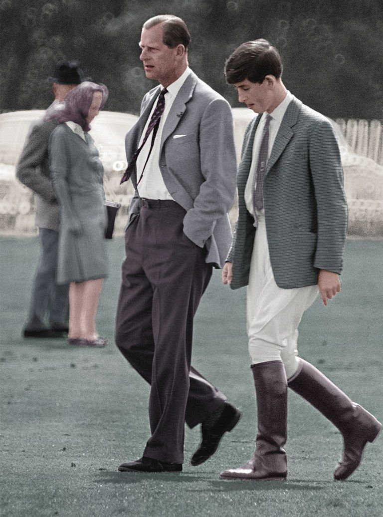 Prince Charles and his father | Prince charles, Queen and prince phillip, English royal family