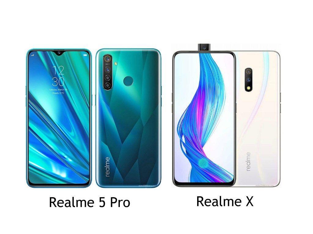 Realme 5 Pro Vs Realme X Mana Yang Spesifikasinya Lebih Tinggi Ponsel