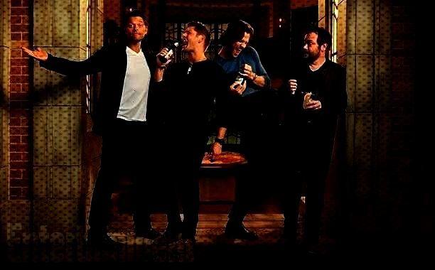 con 4 divertenti Foto : Supernatural su Entertainment Weekly con 4 divertenti Foto | Crazy for Tv S