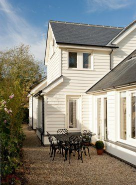 Roderick James Architects White Exterior Houses Beach House Exterior House Cladding