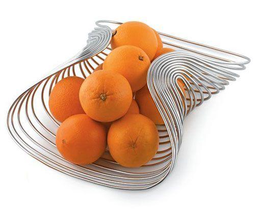 Marli wire fruit basket by steven blaess for alessi for home pinterest wire fruit basket - Alessi fruit basket ...