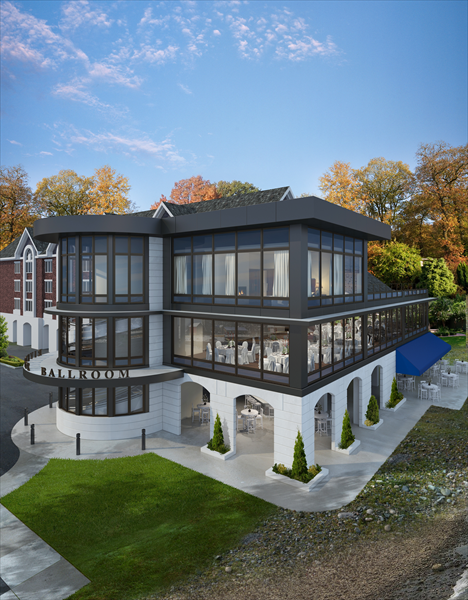 Inn At Lambertville Station Addition Rendering Nj