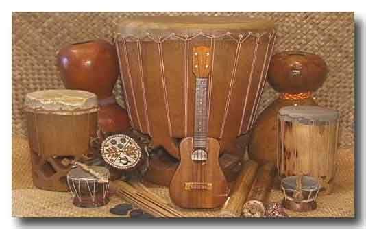 Resultado de imagen para instrumentos musicales de la danza polinesia