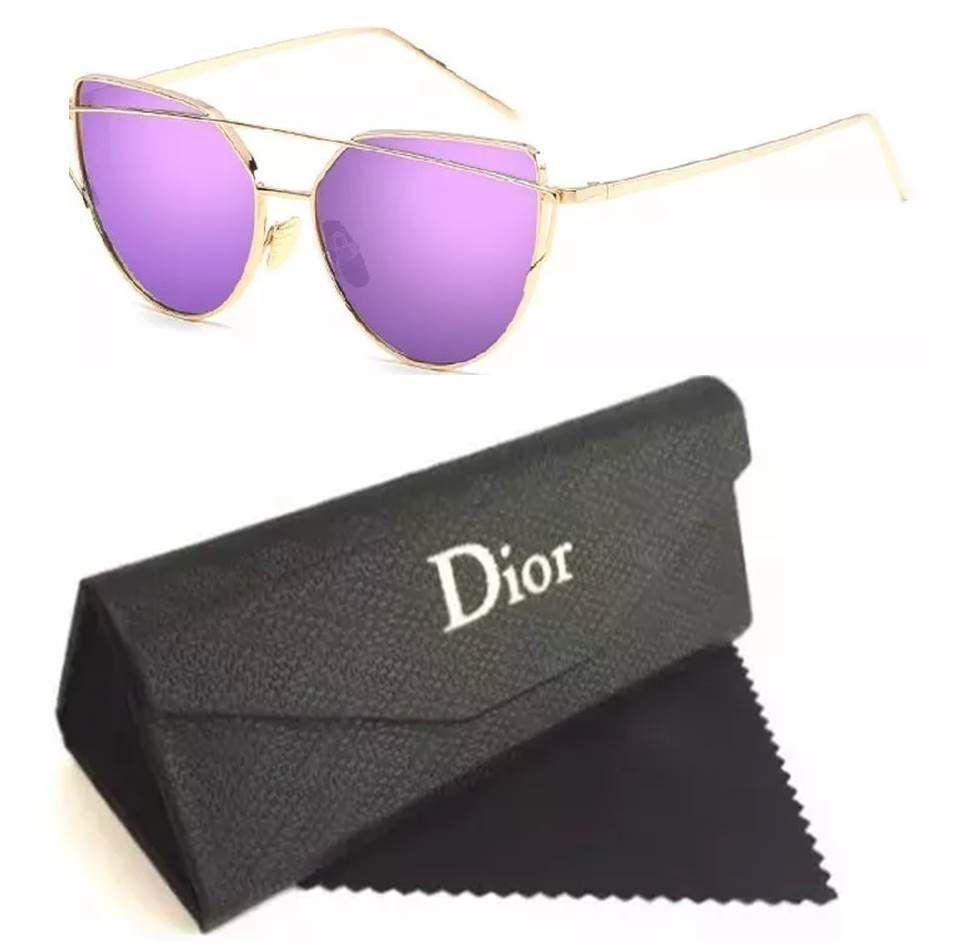 ae1baa87d Temos as melhores Replicas de Óculos Femininos baratos de marcas famosas.  Replicas Fendi, Dior