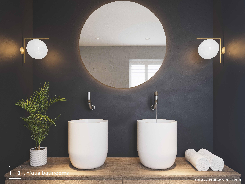 Pin Von Baederdesign Info Auf Jee O Runde Badezimmerspiegel