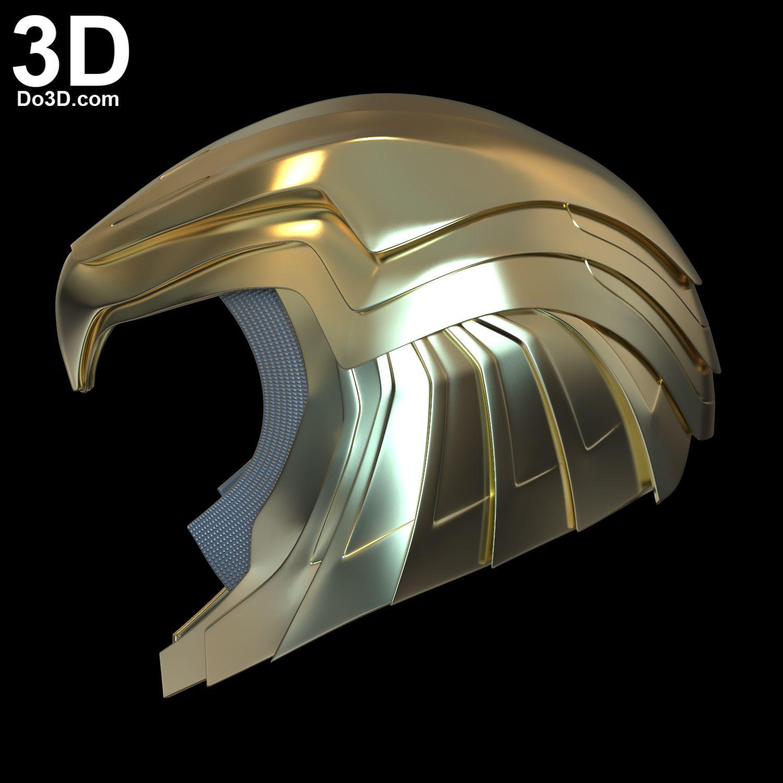 3d Printable Model Wonder Woman 1984 Diana S Golden Armor Print File Format Stl Do3d Com In 2020 3d Printable Models 3d Printing Industry 3d Model
