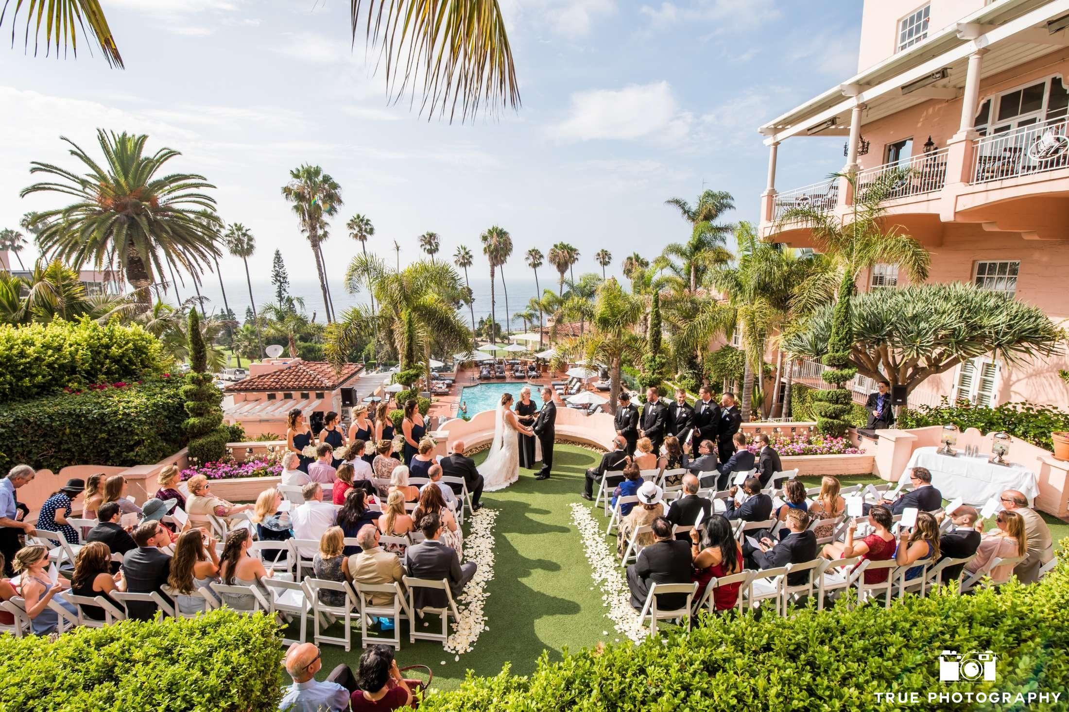 La Valencia Hotel La Jolla Ca Lavalencia Destinationwedding