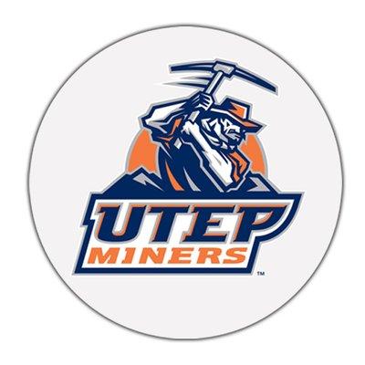 Thirstystone El Paso University Of Texas Collegiate Coaster Logo Wall Coaster Gift Set College Logo