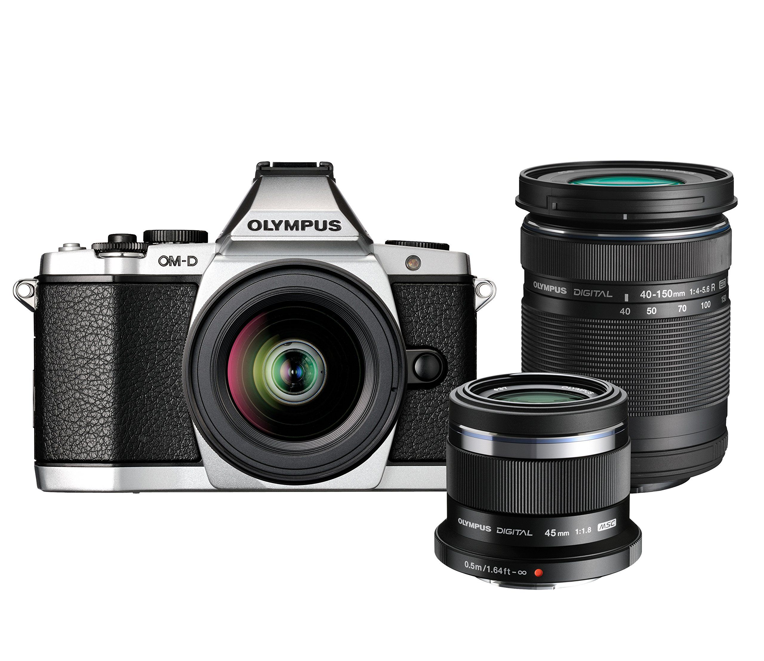 Olympus OM-D E-M5 Travel Kit with M.Zuiko Digital ED 12-50mm, 40 ...