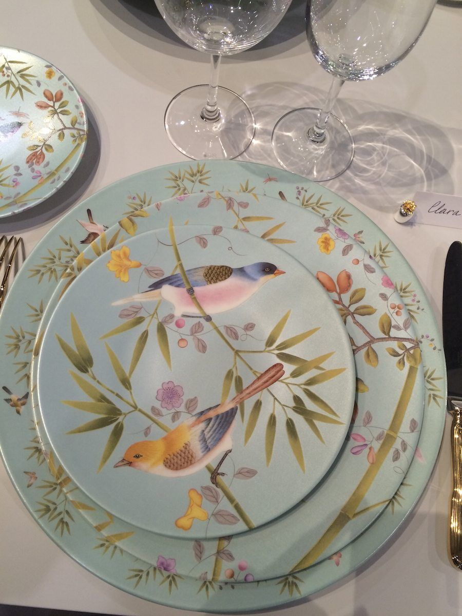 Raynaud has created a new porcelain collection Paradis