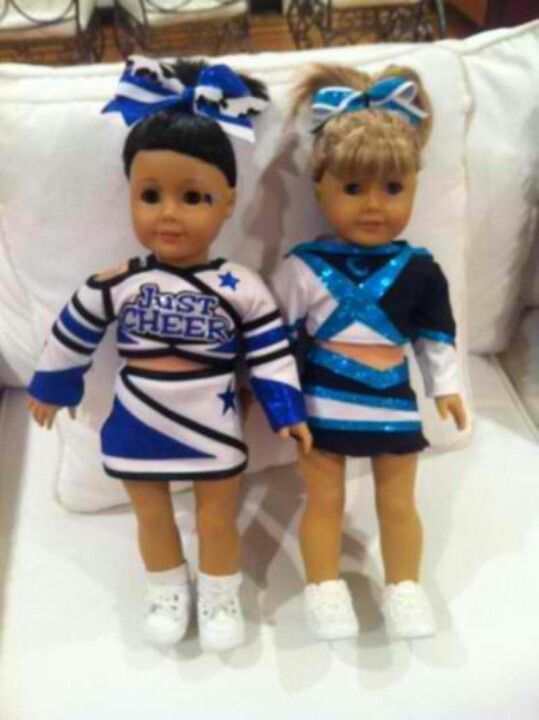 Cheerleader Dolls - cheerleading uniforms are available sized to fit 18-inch dolls such as American Girls dolls.  Adorable!!  -LRE #18inchcheerleaderclothes Cheerleader Dolls - cheerleading uniforms are available sized to fit 18-inch dolls such as American Girls dolls.  Adorable!!  -LRE #18inchcheerleaderclothes Cheerleader Dolls - cheerleading uniforms are available sized to fit 18-inch dolls such as American Girls dolls.  Adorable!!  -LRE #18inchcheerleaderclothes Cheerleader Dolls - cheerlead #18inchcheerleaderclothes