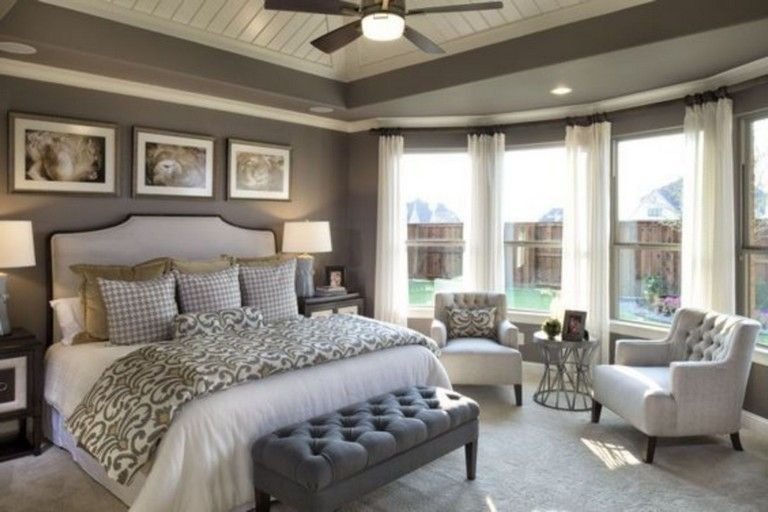 20 Homey And Cozy Master Bedroom Decorating Ideas Beautiful Bedrooms Master Romantic Master Bedroom Large Master Bedroom Ideas
