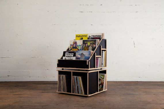 1. Dovetail Record Crate