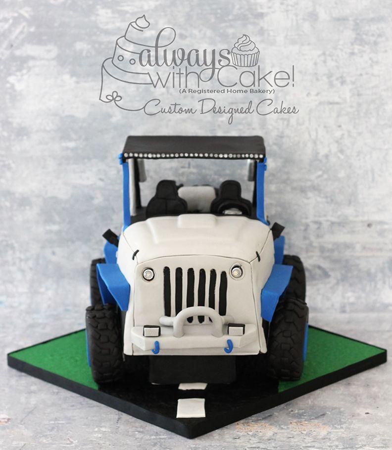 Jeep cake barrel cake easter bunny cake alice in