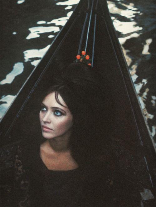 anna karina for vogue 1967