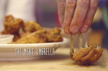 How To Eat Wings: The Meat Umbrella vs. The Bone Splitter ...