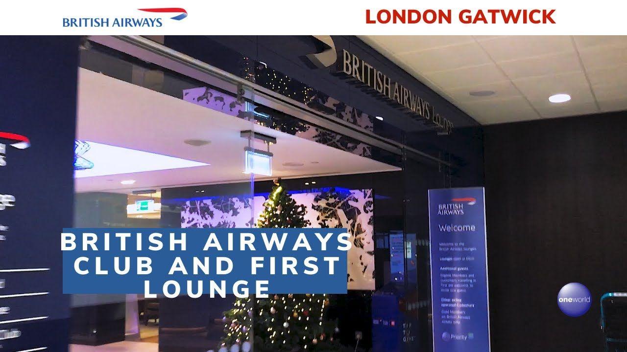 British airways club and first lounge london gatwick
