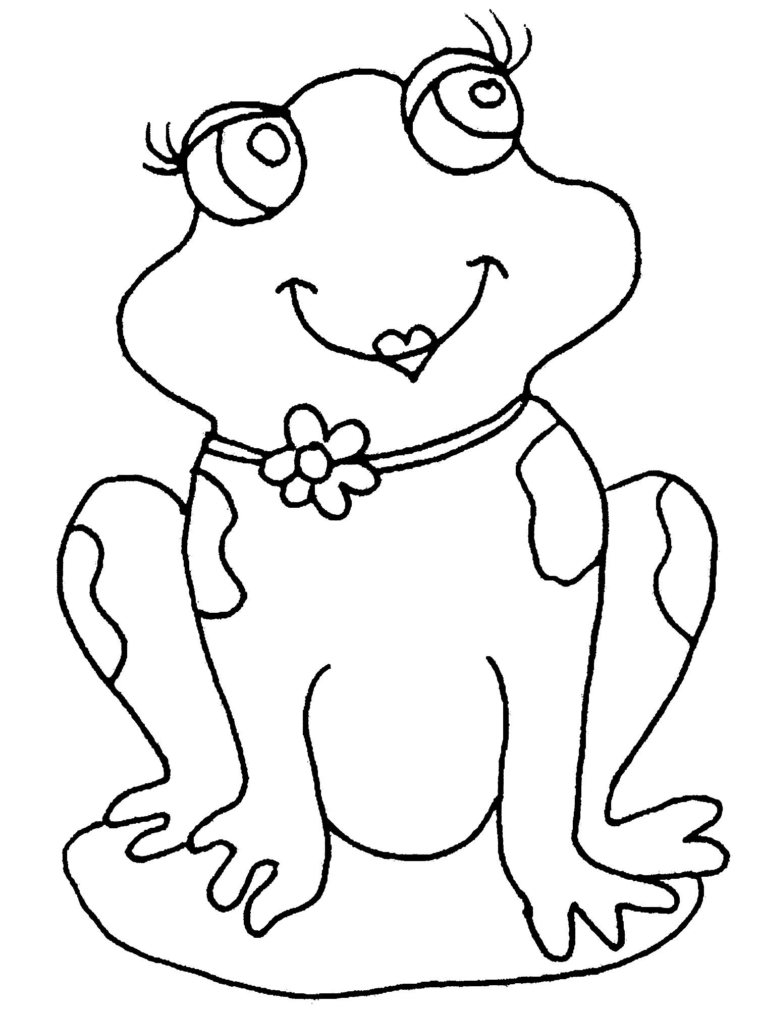 Frogs To Print Easy Free Frogs Coloring Page To Download From The Gallery Frogs Just Color Kid In 2021 Frosch Malvorlagen Malvorlage Prinzessin Vogel Malvorlagen