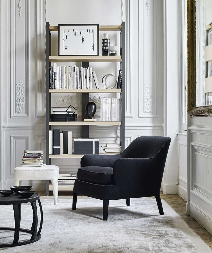 armchair febo maxalto design by antonio citterio pinterest armchairs interiors and. Black Bedroom Furniture Sets. Home Design Ideas