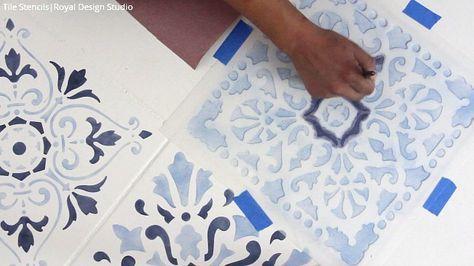 How Stencil Tile Floor The Secret Out