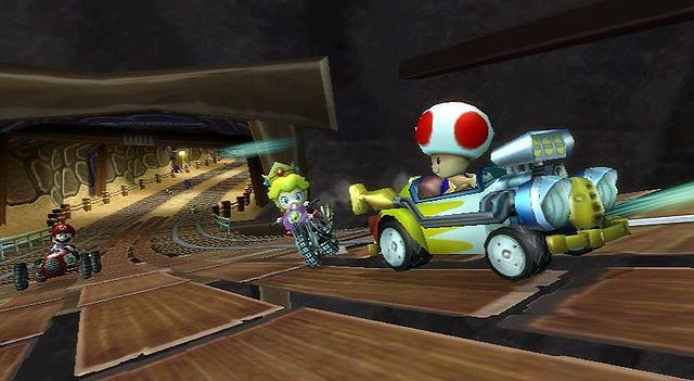 Wario S Gold Mine From Mario Kart Wii Mario Kart Wii Luigi