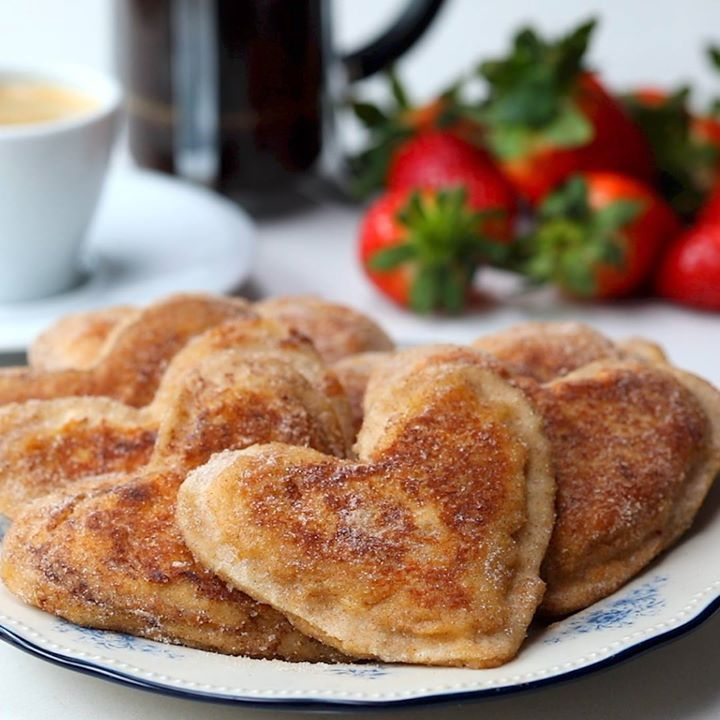 Photo of Bacon Stuffed French Toast Hearts – Cooking TV Recipes