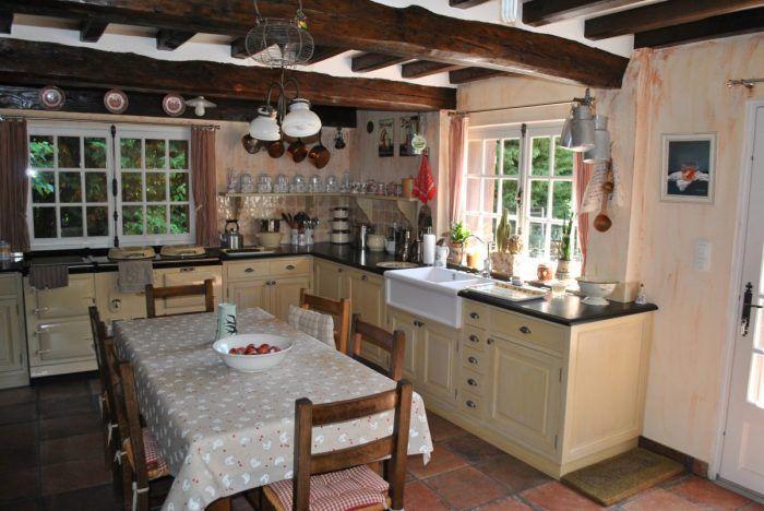maison normande véranda   ... LEBIZAY > Maison en vente SAINT AUBIN LEBIZAY…