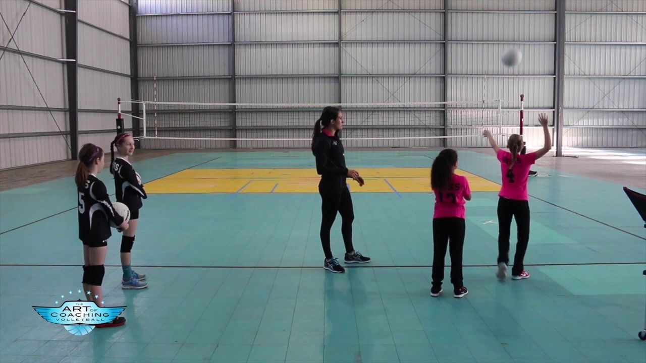 Horse Serving Game For Volleyball The Art Of Coaching Volleyball Coaching Volleyball Volleyball Volleyball Drills