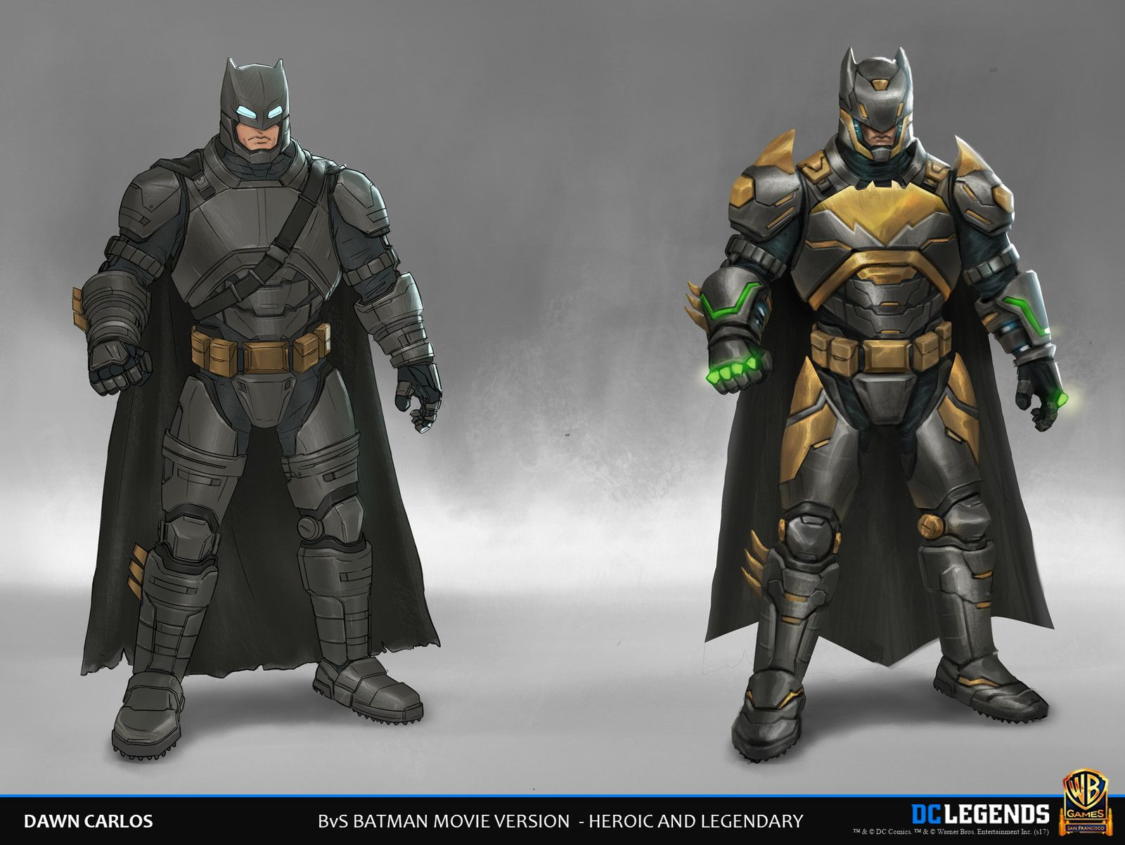 DC Legends Character Designs, Dawn Carlos on ArtStation at