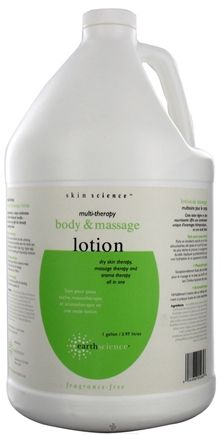 Buy Earth Science - Multi-Therapy Hand, Body & Massage Lotion - 1 Gallon at LuckyVitamin.com