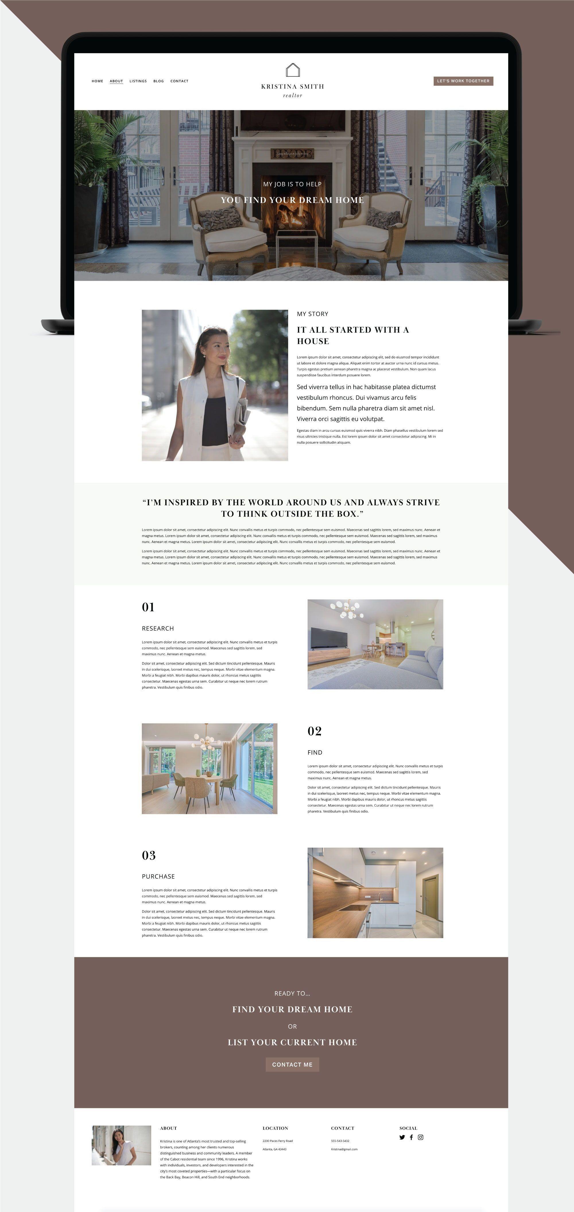 Real Estate Agency Website Template 40107 Templatemonster Real Estate Agency Real Estate Templates Real Estate