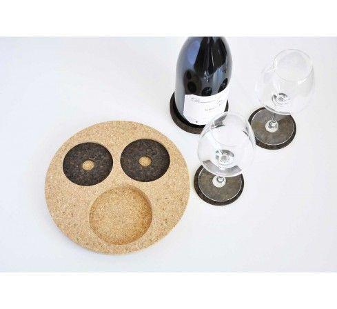 Petit Ourson, dessous de plat éco design en liège, arts de la table ...