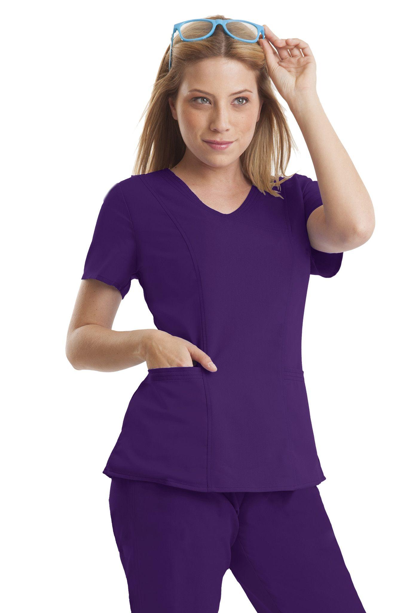 697dae10211 #nursing #fashion #nurselife #scrublife #colors #healinghands #purplelabel. Jordan  Top ...