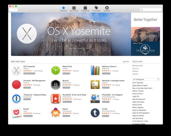Apple prepares Mac App Store makeover with Yosemite-style