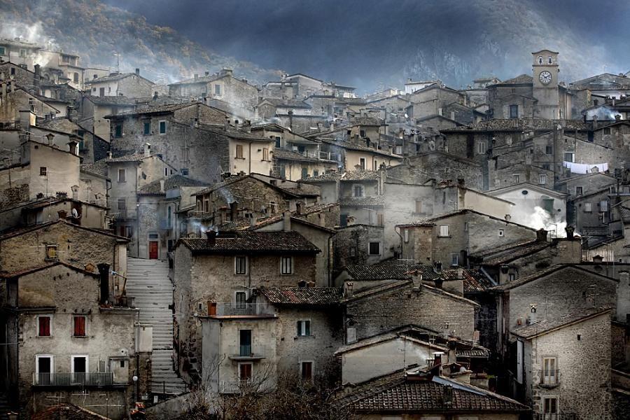 | ♕ |  Mythical Scanno - Abruzzo, Italy  | by © Edmondo Senatore