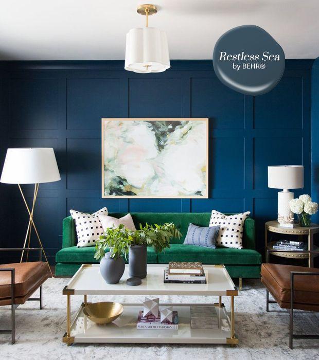 10 Best Paint Colours Paint Colors For Living Room Living Room Paint Blue Living Room